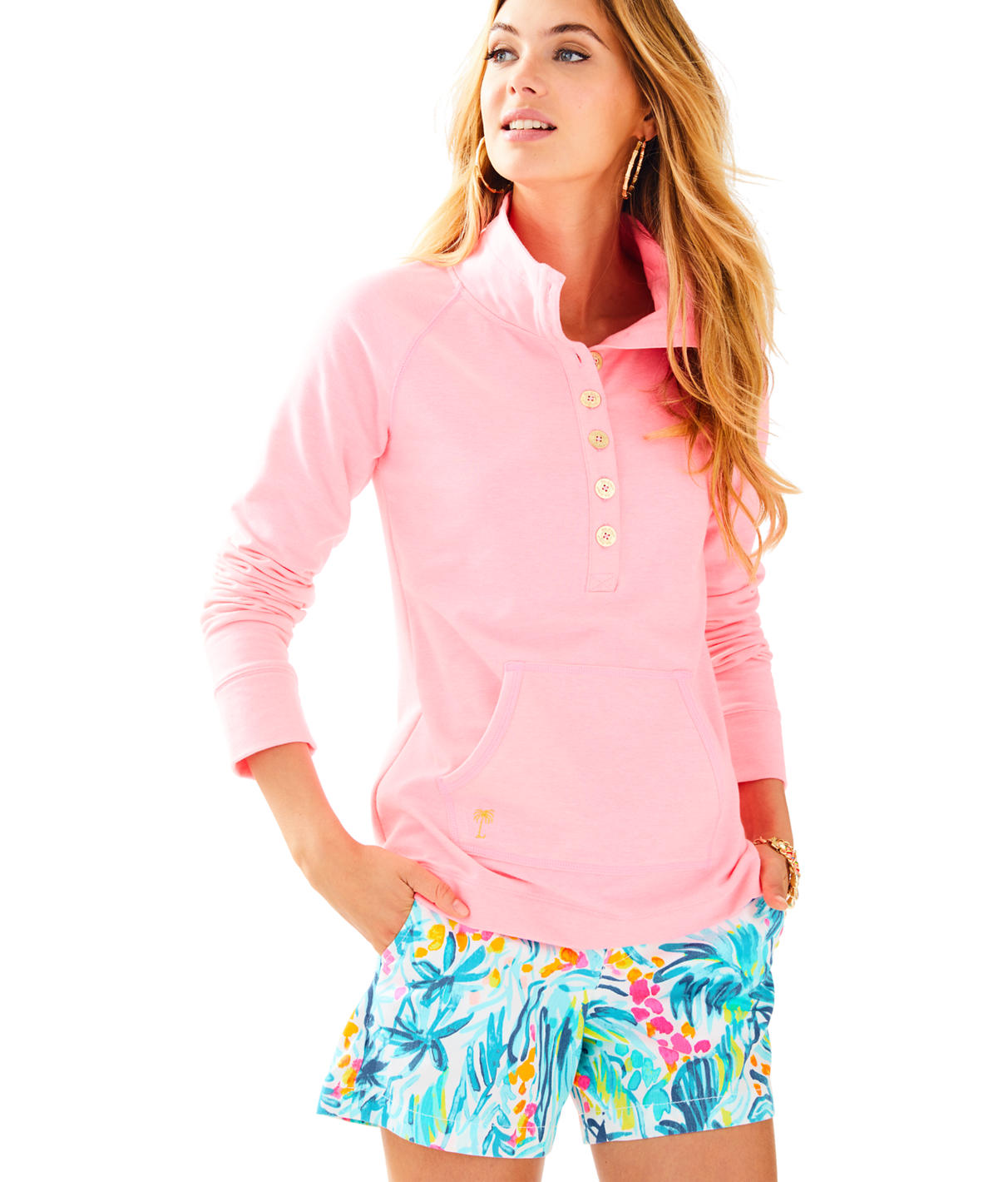 Lilly Pulitzer Lilly Pulitzer Womens UPF 50+ Captain Popover