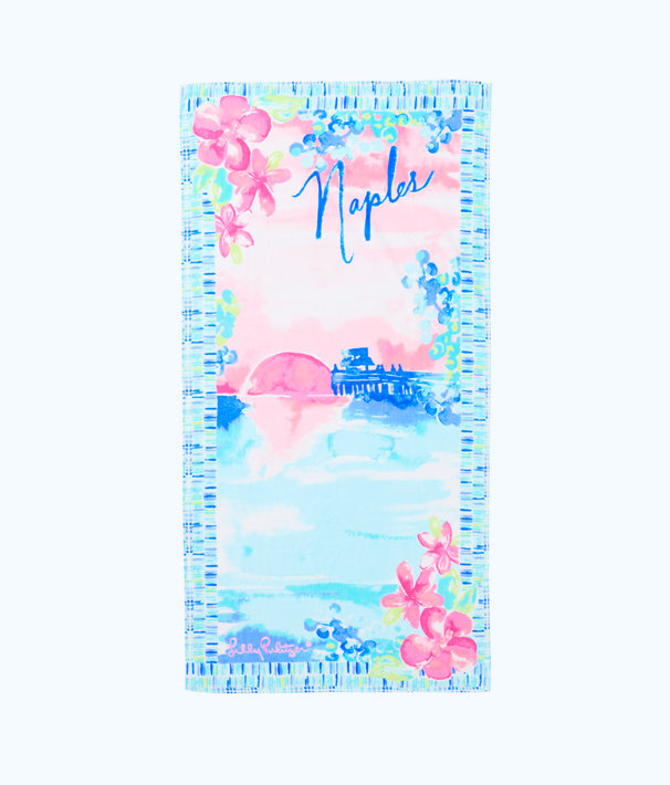 Destination Beach Towel - Naples, , large