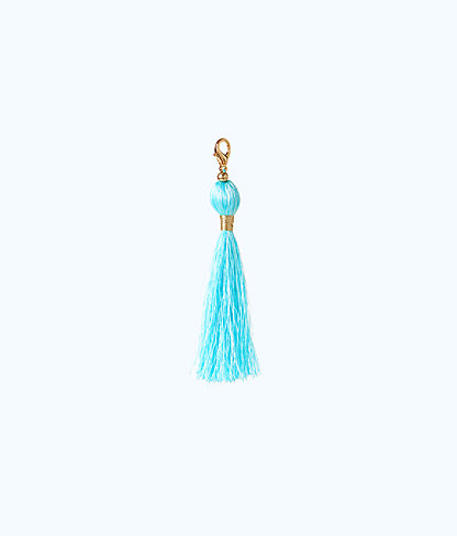 Removable Tassel Zipper Pull, Serene Tint, large