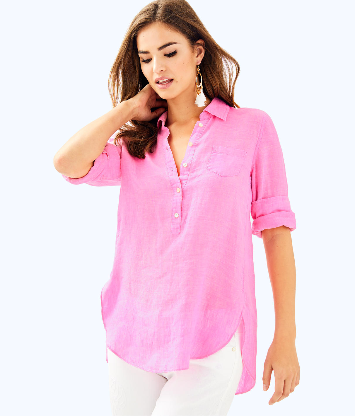 Lilly Pulitzer Lilly Pulitzer Womens Deanna Popover