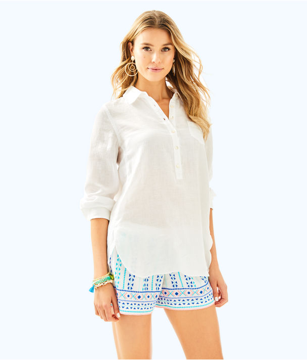 Deanna Popover, Resort White, large