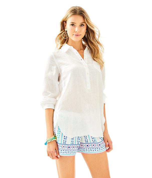Deanna Popover, Resort White, large
