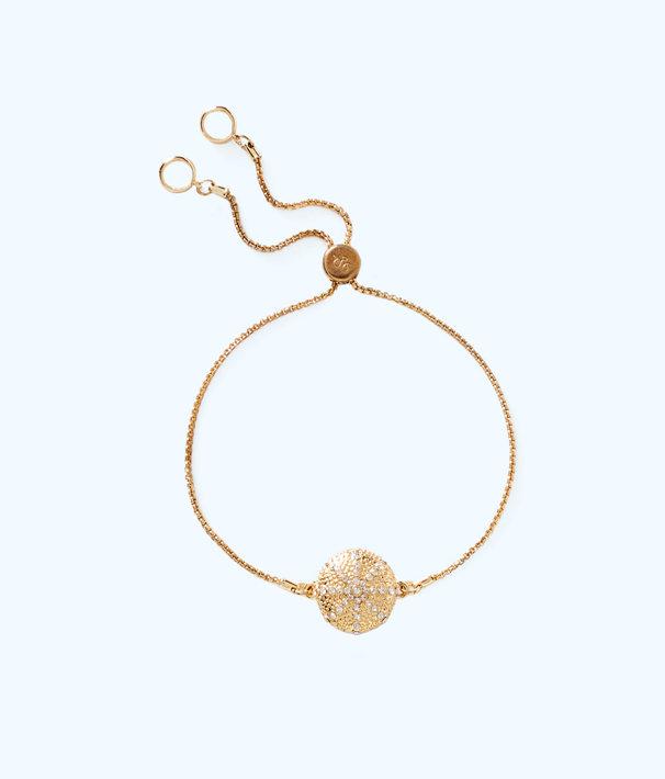 Charming Urchin Bracelet, Gold Metallic, large