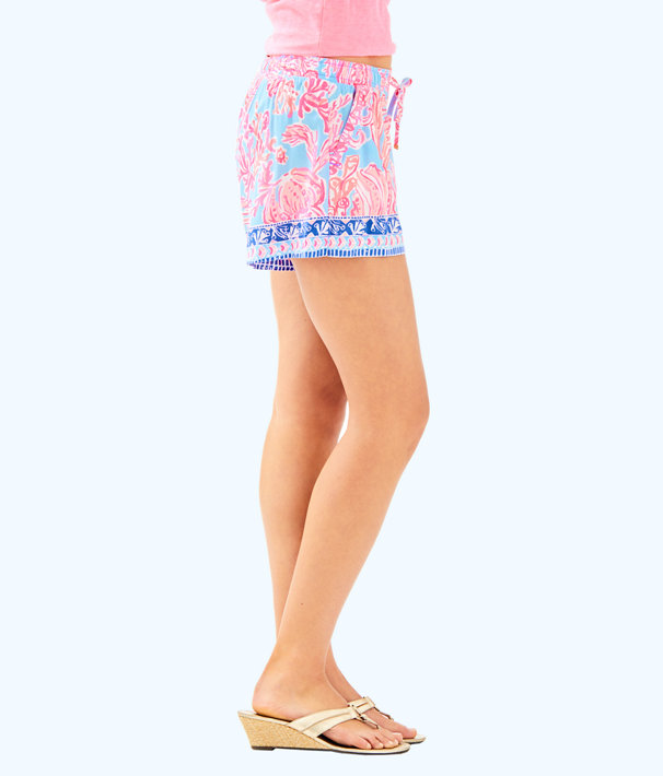 "5"" Katia Short, Seasalt Blue Shell We Dance Engineered Short, large"