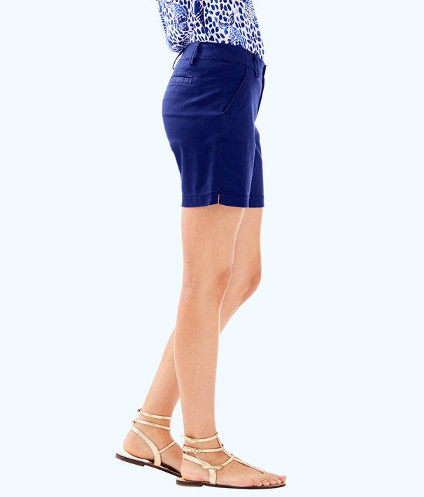 "7"" Jayne Stretch Short, True Navy, large"