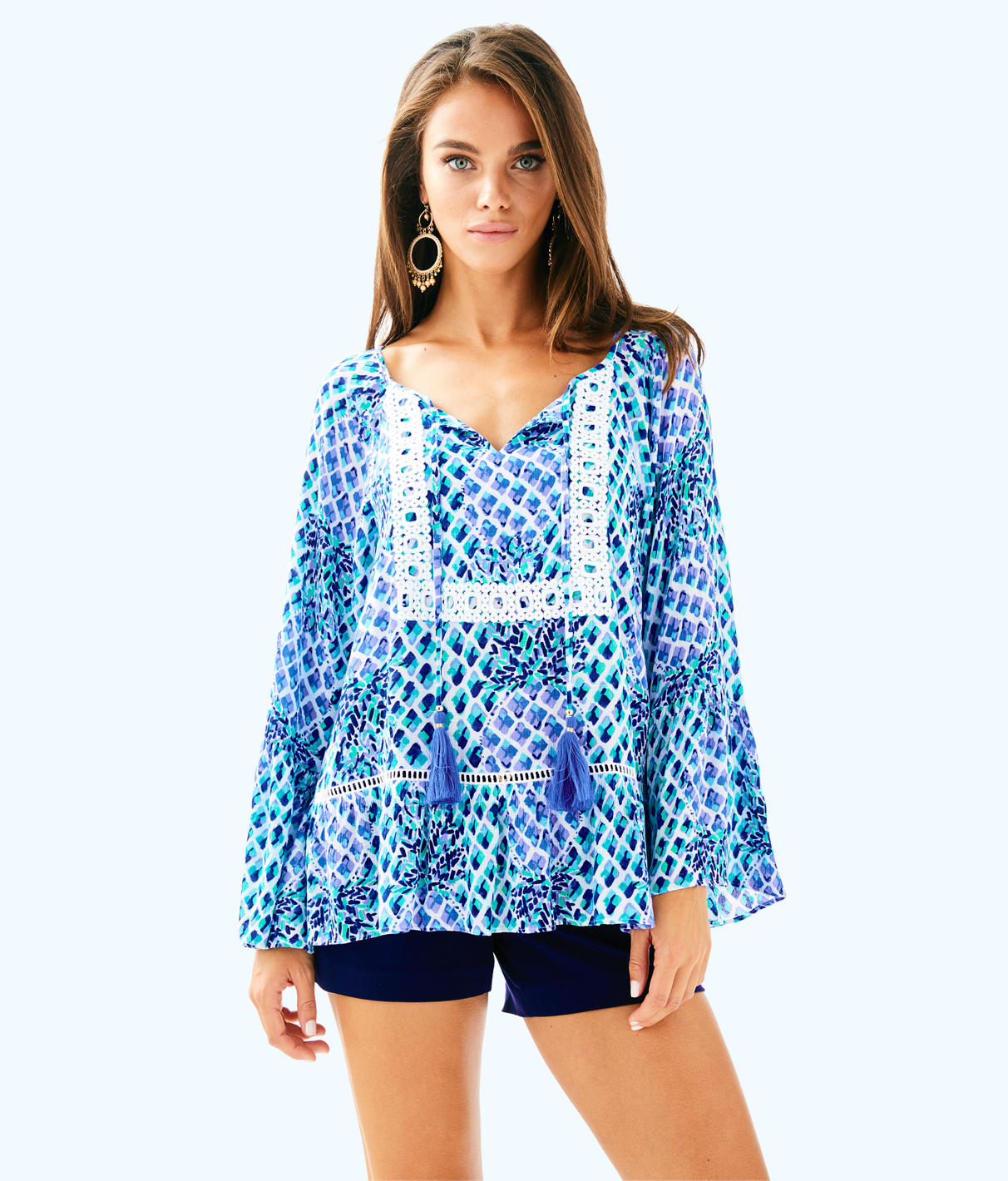 Lilly Pulitzer Lilly Pulitzer Womens Amisa Top
