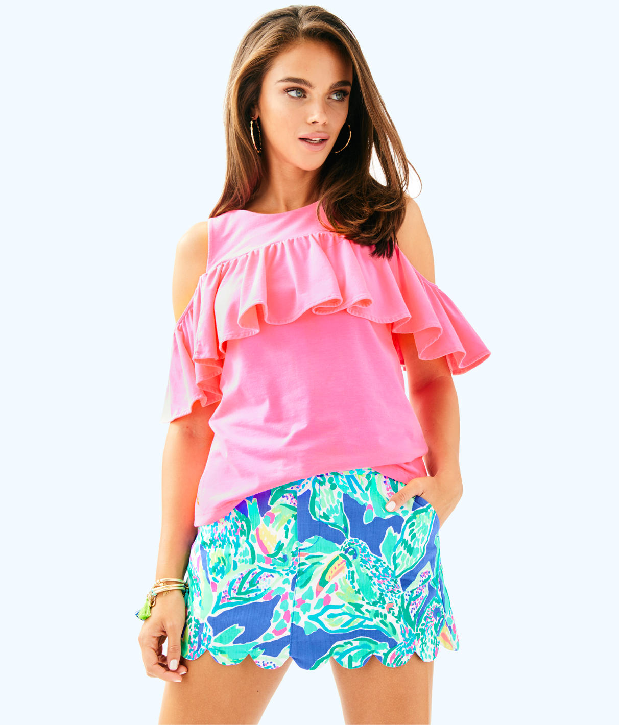Lilly Pulitzer Lilly Pulitzer Womens Lyra Top