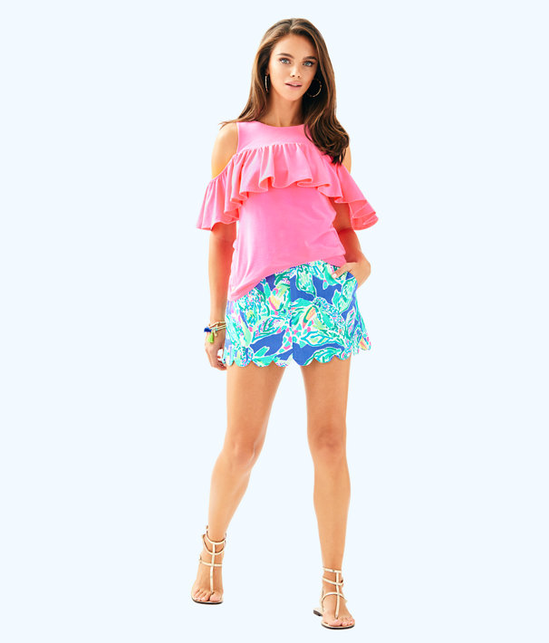 Lyra Top, Pink Sunset, large