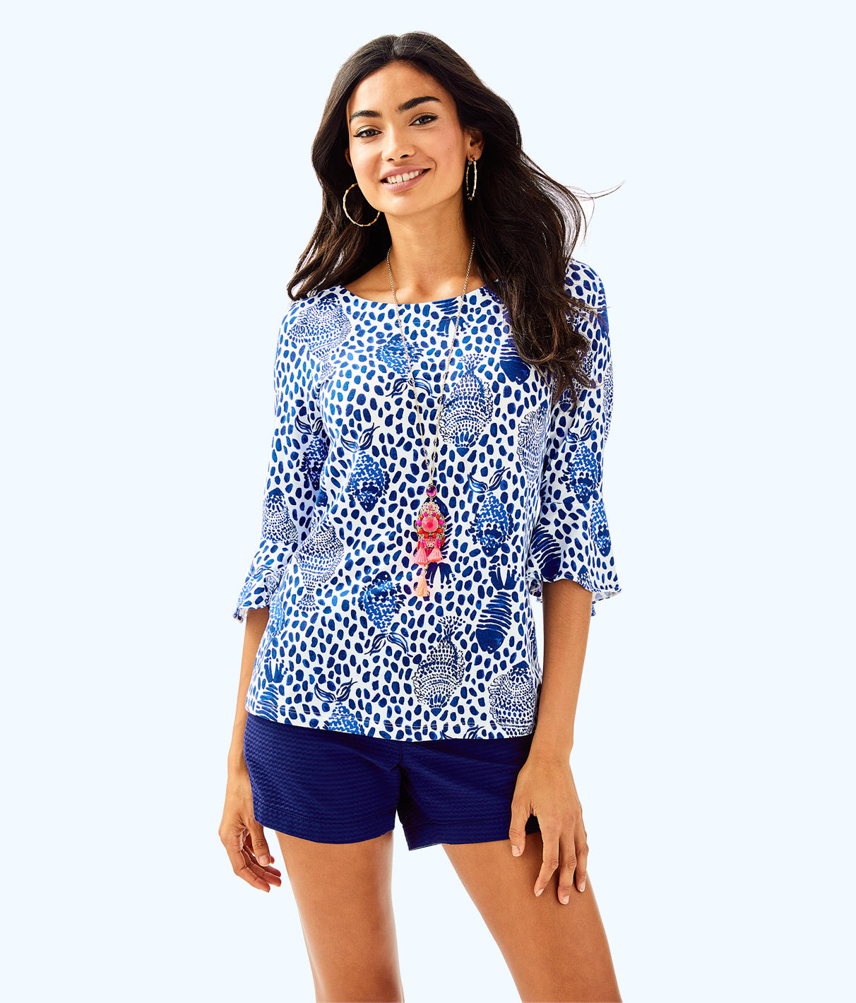 Lilly Pulitzer Lilly Pulitzer Womens Lilly Pulitzer Fontaine Top