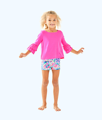 Girls Mini Callahan Short, Multi Dancing On The Deck Small, large