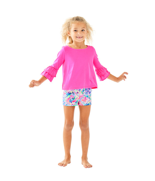 Girls Mini Callahan Short, Multi Dancing On The Deck Small, large