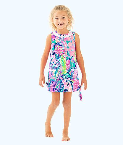 Girls Little Lilly Classic Shift, Multi Gumbo Limbo, large