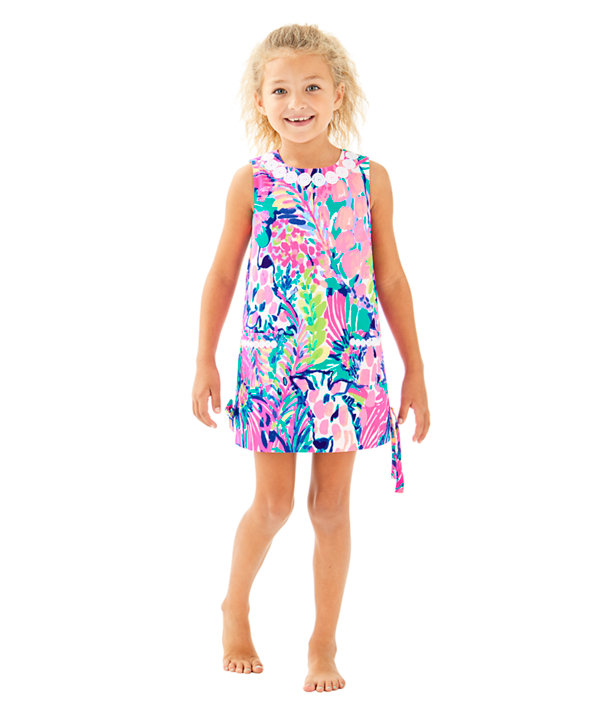 Girls Little Lilly Classic Shift, Multi Gumbo Limbo, large