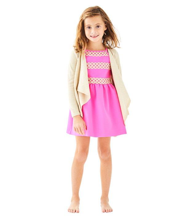 Girls Mini Colony Cardigan, , large