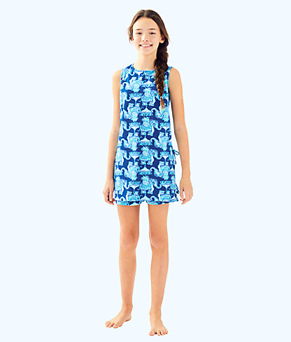 Girls Mini Donna Set, Deep Indigo Joy Ride, large