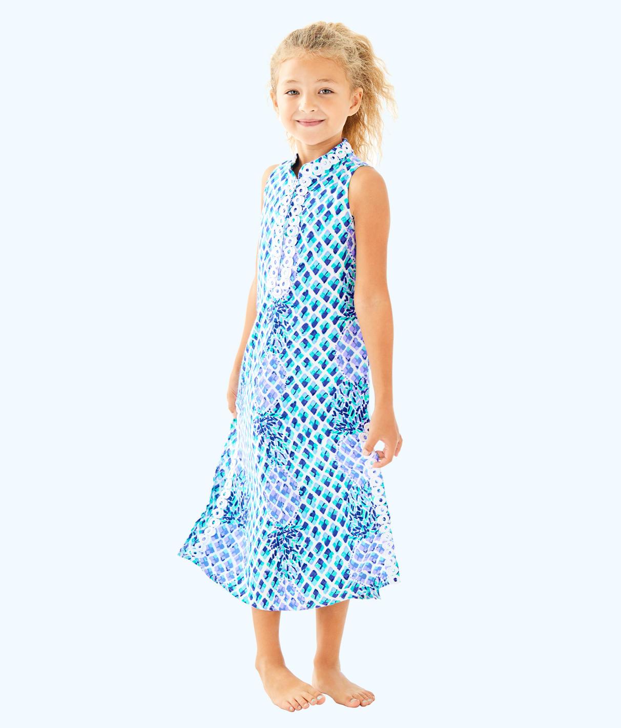 Lilly Pulitzer Lilly Pulitzer Girls Mini Jane Maxi Dress