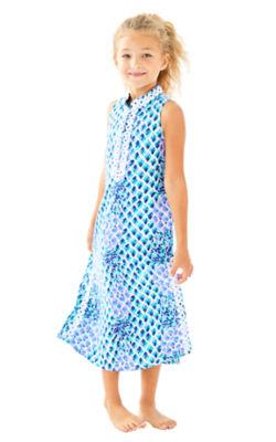 Girls Mini Jane Maxi Dress, , large