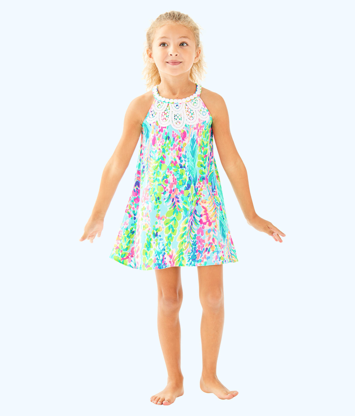 Lilly Pulitzer Lilly Pulitzer Girls Mini Pearl Shift