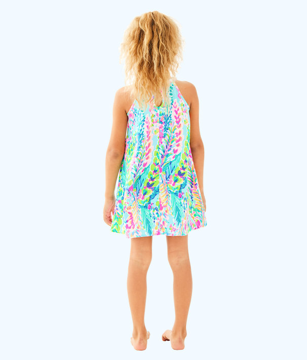 Girls Mini Pearl Shift, Multi Catch The Wave, large