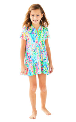 Girls Cooke Coverup, , large