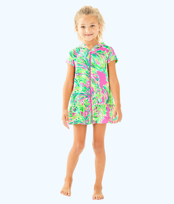 Girls Cooke Coverup, Multi Shady Lady, large