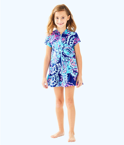 Girls Cooke Coverup, Twilight Blue Gypsea Girl, large