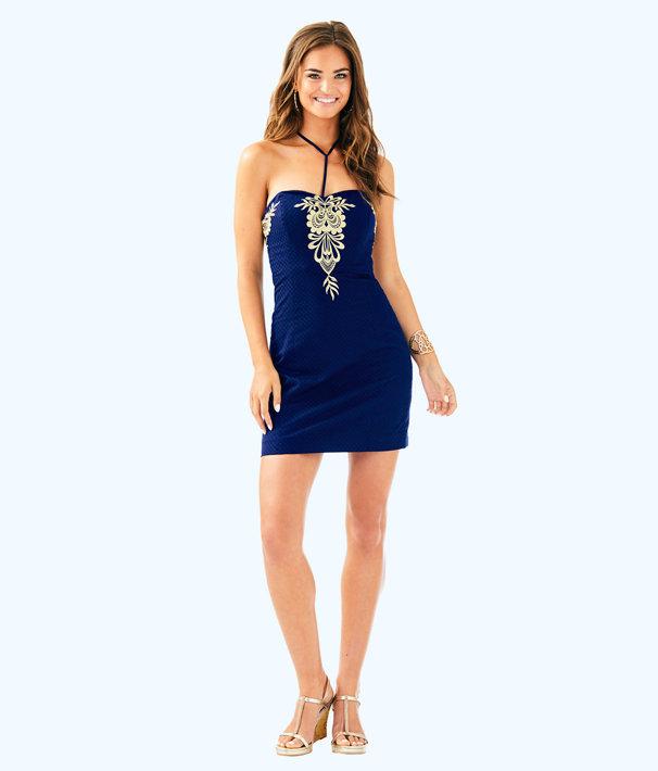 Demi Convertible Dress, True Navy, large