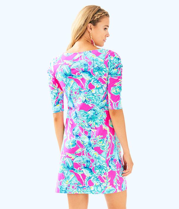 Lajolla Dress, Raz Berry Lobsters In Love, large