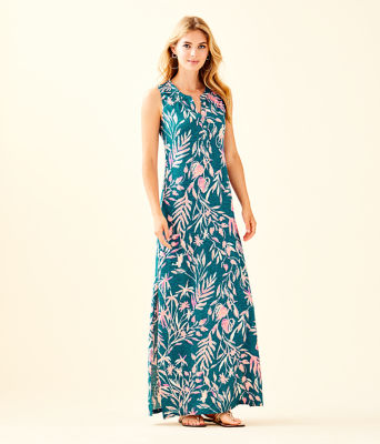 Essie Maxi Dress, Tidal Wave Its Prime Time, large