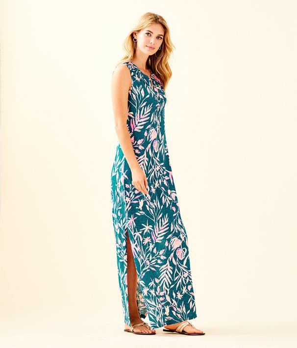 Essie Maxi Dress, Tidal Wave Its Prime Time, large