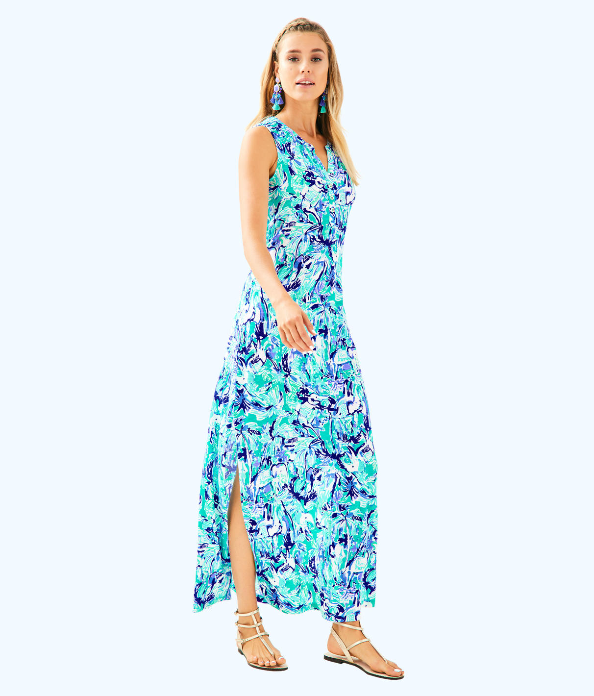 Lilly Pulitzer Lilly Pulitzer Womens Essie Maxi Dress