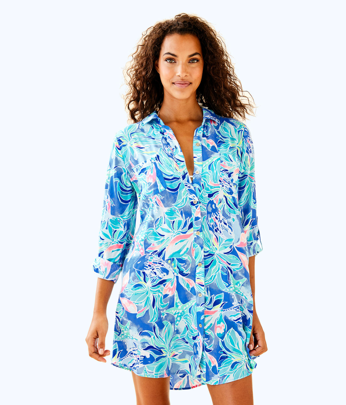 Lilly Pulitzer Lilly Pulitzer Womens Natalie Coverup