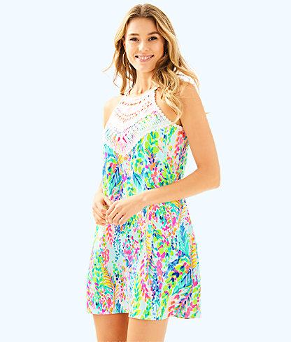 Lilly Pulitzer Lilly Pulitzer Womens Pearl Soft Shift Dress