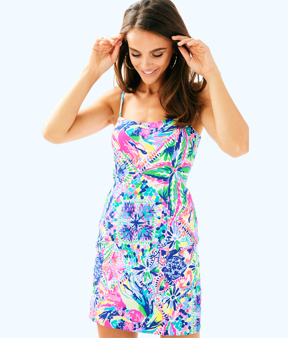 Lilly Pulitzer Lilly Pulitzer Womens Shelli Stretch Shift