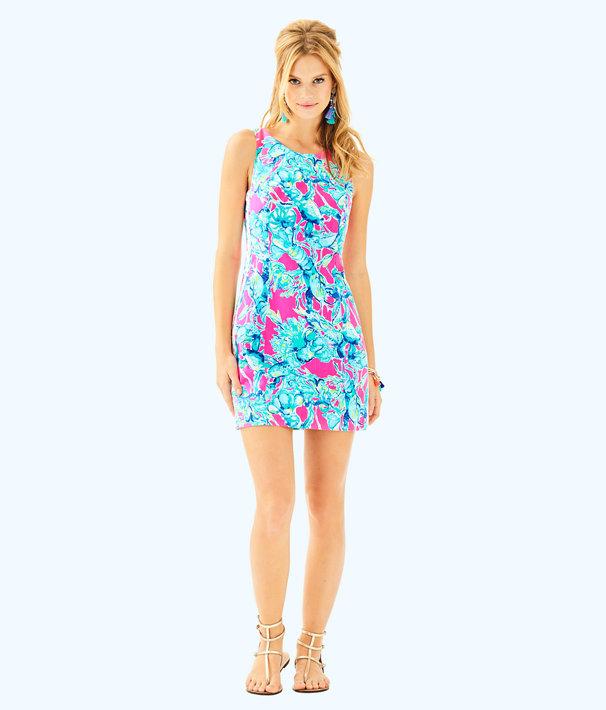 Mila Shift Dress, Raz Berry Lobsters In Love, large