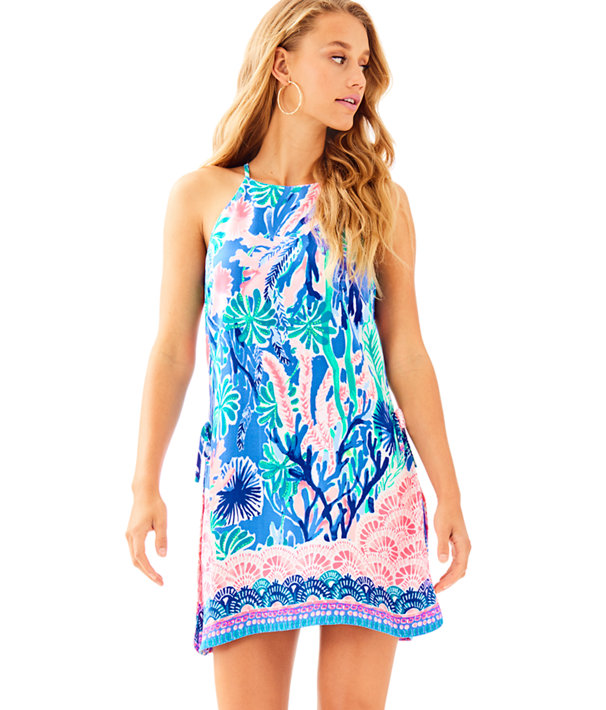 Pearl Romper, Multi Jet Stream Engineered Romper, large