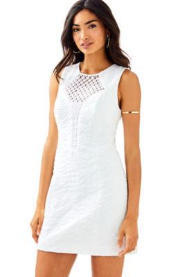Keali Stretch Shift Dress, , large