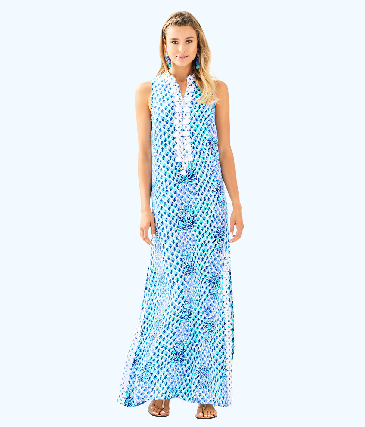 Lilly Pulitzer Lilly Pulitzer Womens Jane Maxi Dress