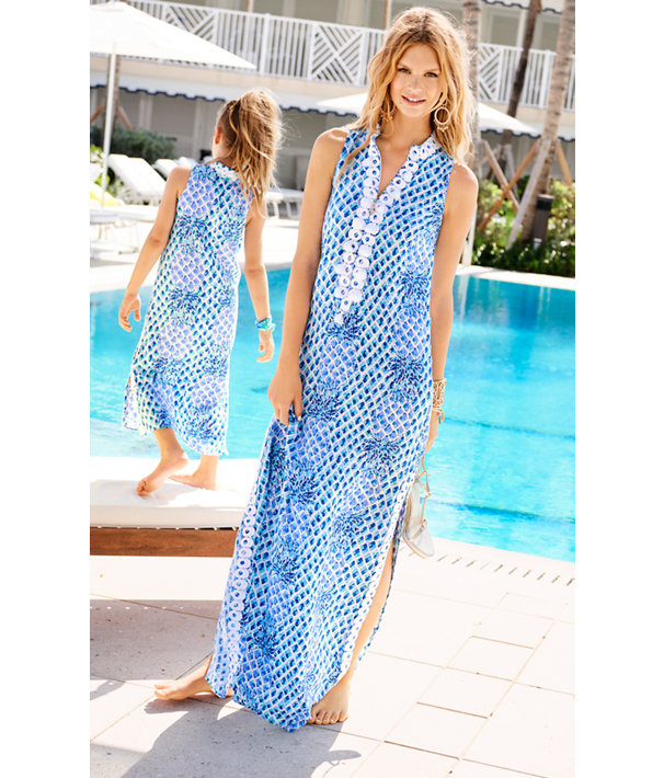 Jane Maxi Dress, Resort White Toe In Engineered Maxi, large