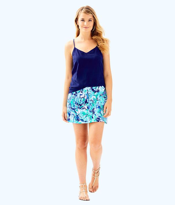 Madison Skort, Tropical Turquoise Elephant Appeal, large