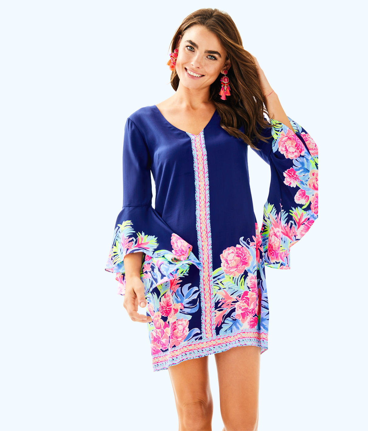 Lilly Pulitzer Rosalia Silk Dress