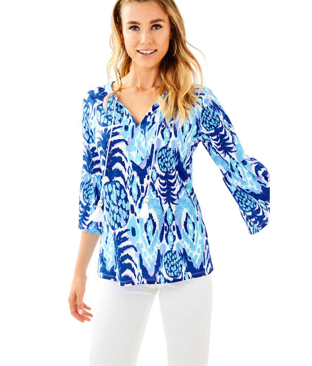 Lilly Pulitzer Lilly Pulitzer Womens Del Lago Tunic