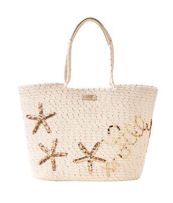 Voyager Tote Bag, Gold Metallic, large