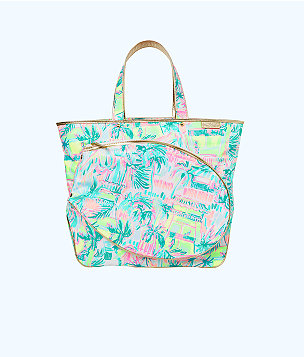 Perfect Match Tennis Tote Bag, , large