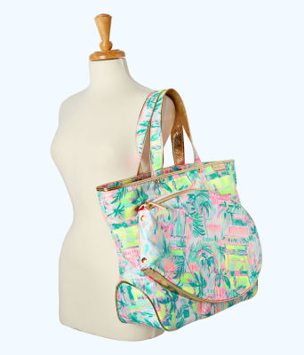 Perfect Match Tennis Tote Bag, Multi Perfect Match, large