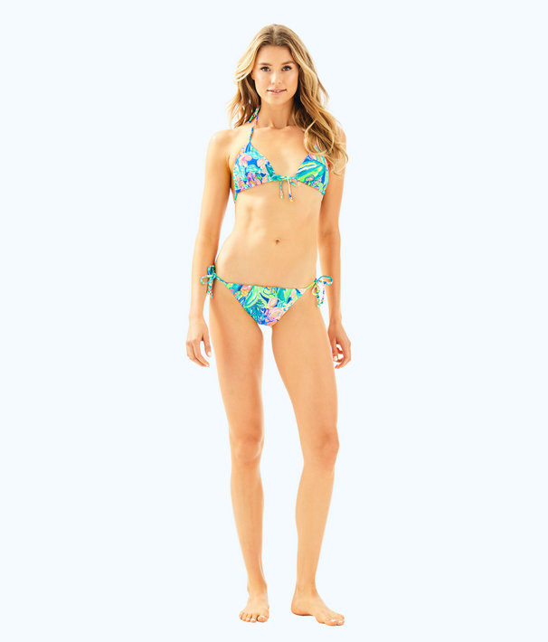 Tropic String Bikini Bottom, Bennet Blue Surf Gypsea Swim, large