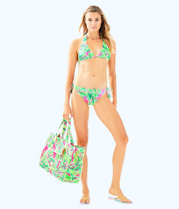 Guava Bikini Bottom, Multi Shady Lady Swim, large