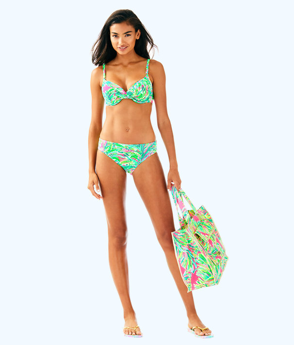 Blossom Bikini Bottom, Multi Shady Lady Swim, large