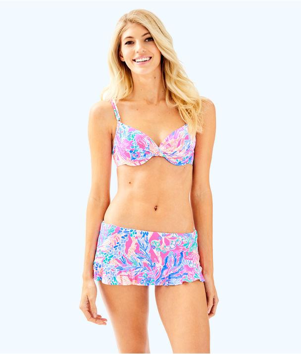 Blossom Underwire Bikini Top, Light Pascha Pink Aquadesiac, large
