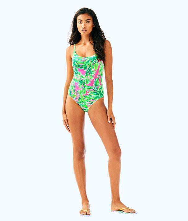Azalea One Piece Suit, Multi Shady Lady Swim, large